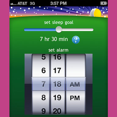 Proactive Sleep Alarm App