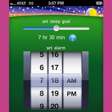 Proactive Sleep Alarm App