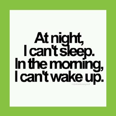 at night i cant sleep