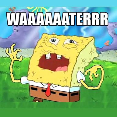 spongebob water copy