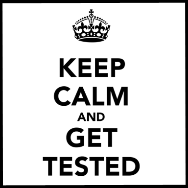 get tested copy