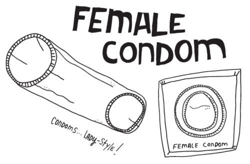 female condom tumbler