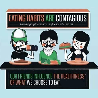 healthy friends